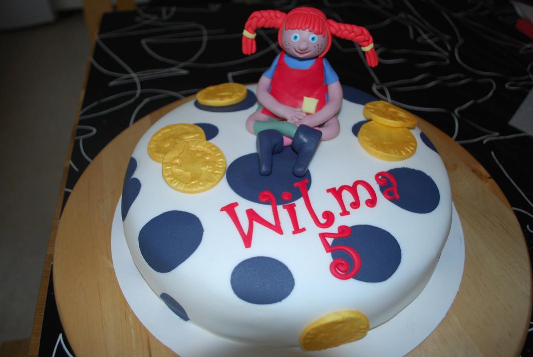 Pippi Långstrump-tårta