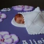 Närbild på bebisen